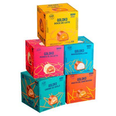 Combo misto bombons zero adição de açúcares – 18 bombons por caixa