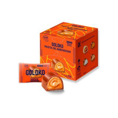 Caixa de bombom pasta de amendoim zero adição de açúcares (67Kcal por unidade) – 18 unidades